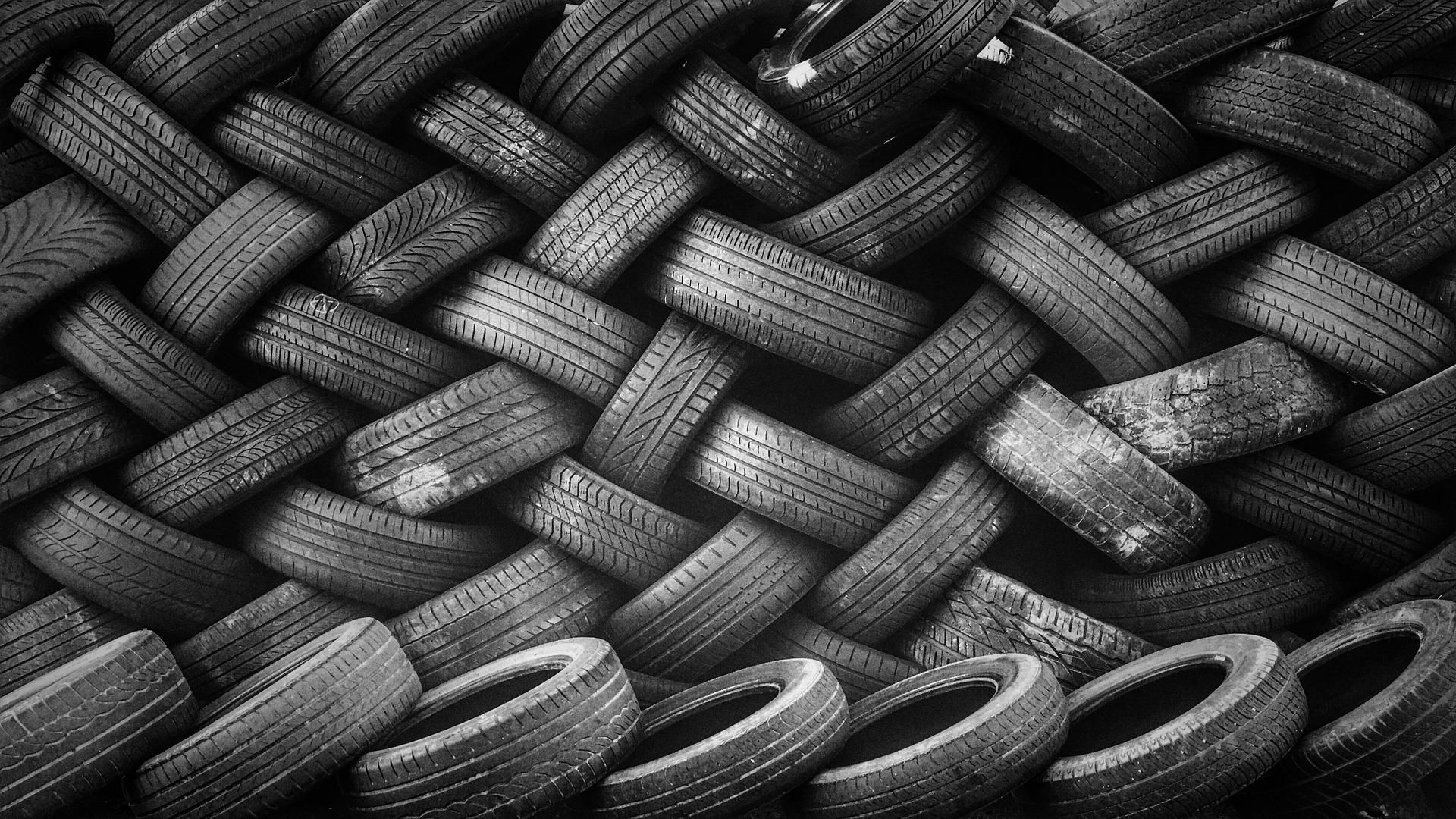 riciclo pneumatici usati